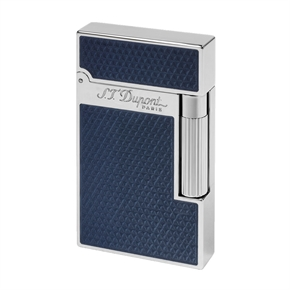 S.T. Dupont Ligne 2 Guilloche Under Blue Lacuqar 16252
