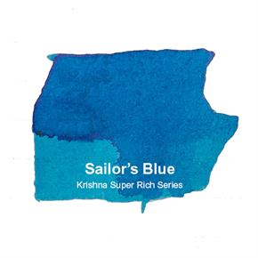 Krishna Super Rich Series Sailor Blue 20 ml Şişe Mürekkep