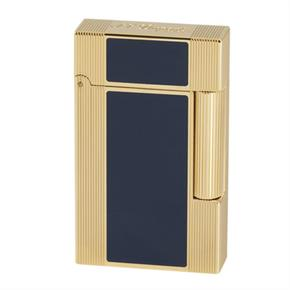 S.T. Dupont Ligne 2 Gold & Blue Windsor 16381