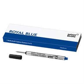 Montblanc Capless Roller Kalem Yedeği Medium Royal Blue 124496