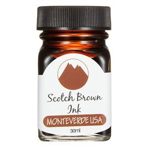 Monteverde Şişe Mürekkep 30ml Scotch Brown G309SB