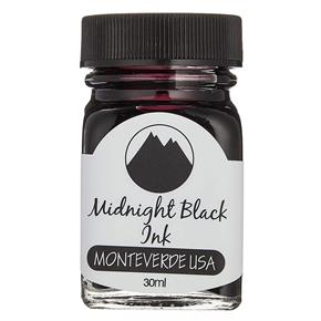 Monteverde Şişe Mürekkep 30ml Midnight Black G309MB