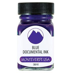 Monteverde Şişe Mürekkep 30ml Documental Blue G309DU