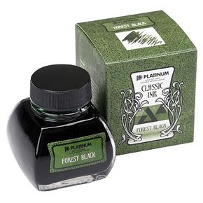 Platinum Şişe Mürekkep 60ml Forest Black INKK-2000