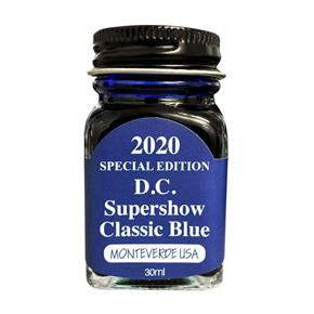 Monteverde 2018 D.C. Supershow Blue Mürekkep 30ml G309DW