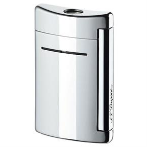 Dupont Minijet Lighter Torch Flame Chrome Grey 10020